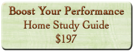 Boost Your Performance Home Study Guide - $197